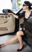Femme luxe transport